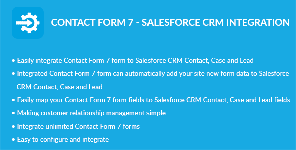Contact Form 7 – Salesforce CRM Integration (Add-ons) images