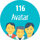 100+ Avatar Flat Square