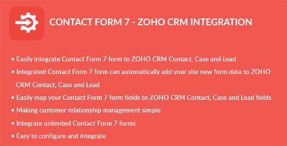Form 7 – ZOHO CRM Integration (Add-ons) images