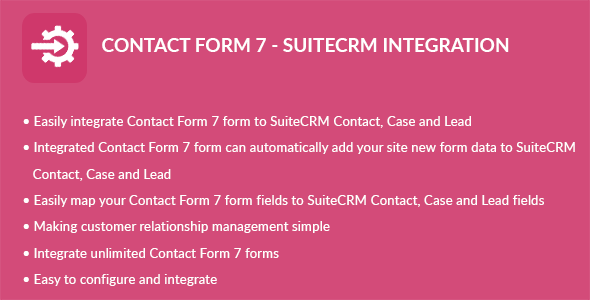 Contact Form 7 – Suite CRM Integration (Add-ons) images