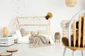 Cozy scandinavian girl's bedroom
