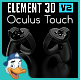 Oculus Touch for Element 3D