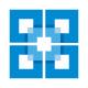 Superimposed Clear Square Logo
