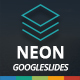 Neon Googleslides Template
