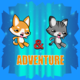 Cat & Dog Super Adventure  (Buildbox,Admob Banner & Intertitial)