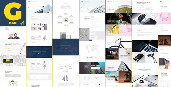 Gro – Inventive and Clean PSD Template (Inventive)