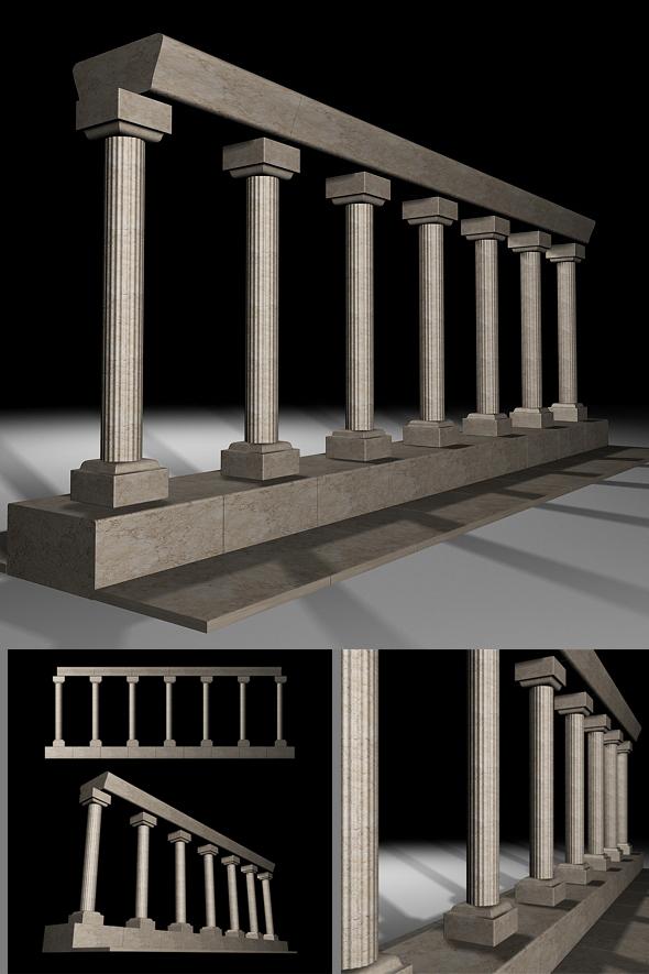 3DOcean Columns 75700