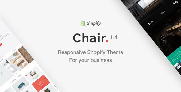 Chair - Responsive Shopify Theme