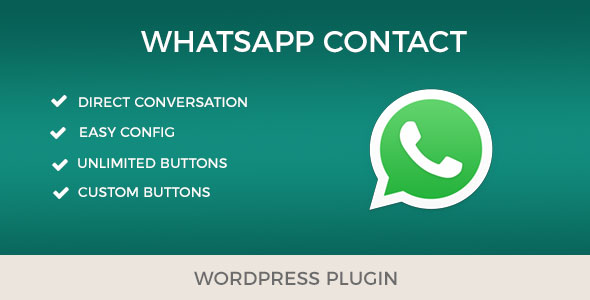WhatsApp Contact – Fast and easy contact with your clients. (WordPress) images