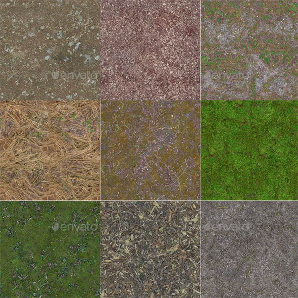 28 Forest Texture Pack
