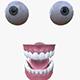 Eyes and teeth