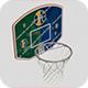 Basketball Backboard Hoop