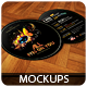 Round Flyers - Mockups