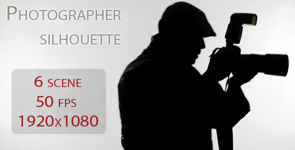 VideoHive Photographer Silhouette 1968598