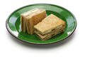 kaya jam toast sandwich, singaporean malaysian breakfast