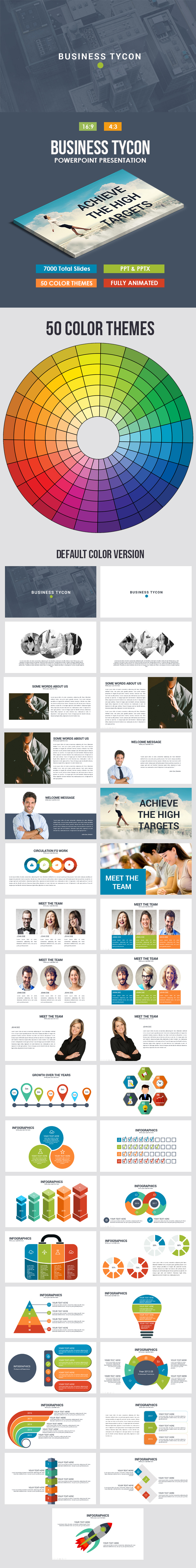 Business Tycon Powerpoint Template