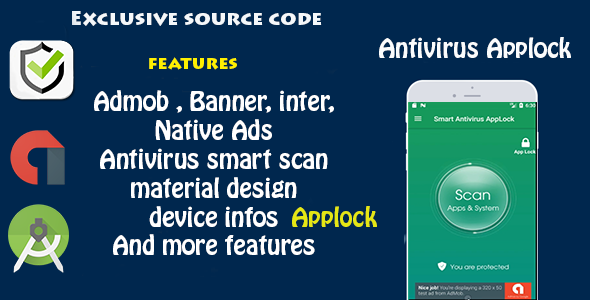 CodeCanyon Antivirus & Applock 20113287