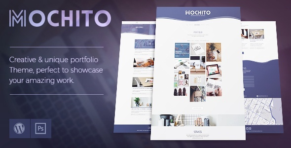 Mochito - One-Page Portfolio Ajax WordPress Theme