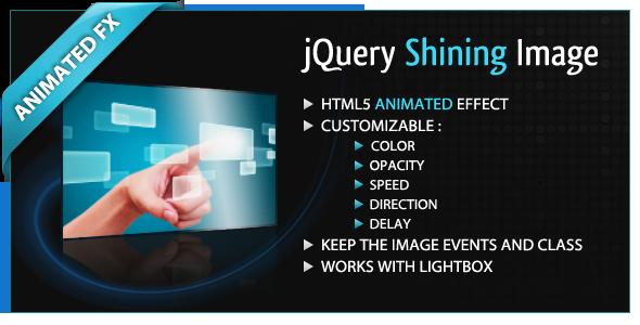 CodeCanyon jQuery Shining Image 711157