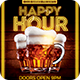 Happy Hour Flyer PSD
