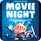 Movie Night Childrens Special Week Flyer