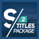 Download Selected Titles 2 | 50 Minimal Titles from VideHive
