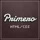 Primero - Video Site Template - ThemeForest Item for Sale