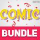 40 Cartoon Text Effects Bundle