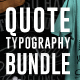 Quote Typography T-Shirts Bundle
