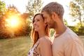 sunshinebetween boyfriend and girlfriend