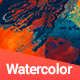 144 Watercolor Backgrounds