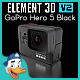 GoPro Hero 5 Black for Element 3D