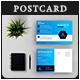 Pro Business Data Analysis Postcard V02