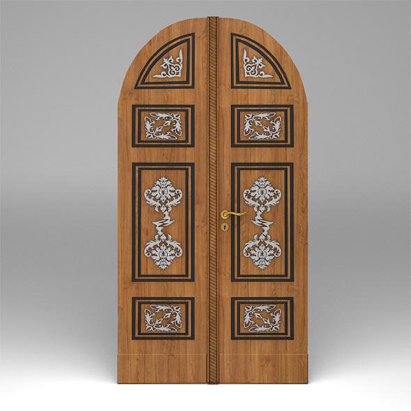 3DOcean Double door 20120656