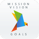 Mission, Vision, Goals | PowerPoint Template