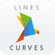 Lines and curves | PowerPoint Template
