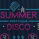 Summer Neon Flyer