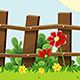 3 Cartoon Game Background Summer Landscapes