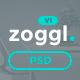 Zoggl - Marketing Website PSD Template