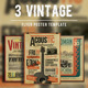 Vintage Flyer/Poster Bundle Vol.1