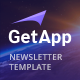 GetApp - App Email Campaign Newsletter Template