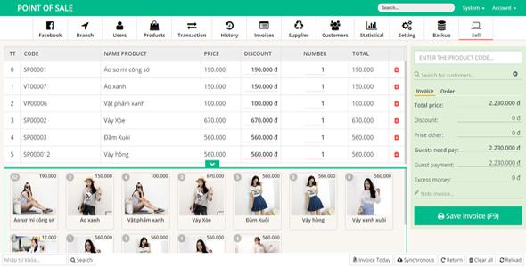 Sales management software Laravel - CRM