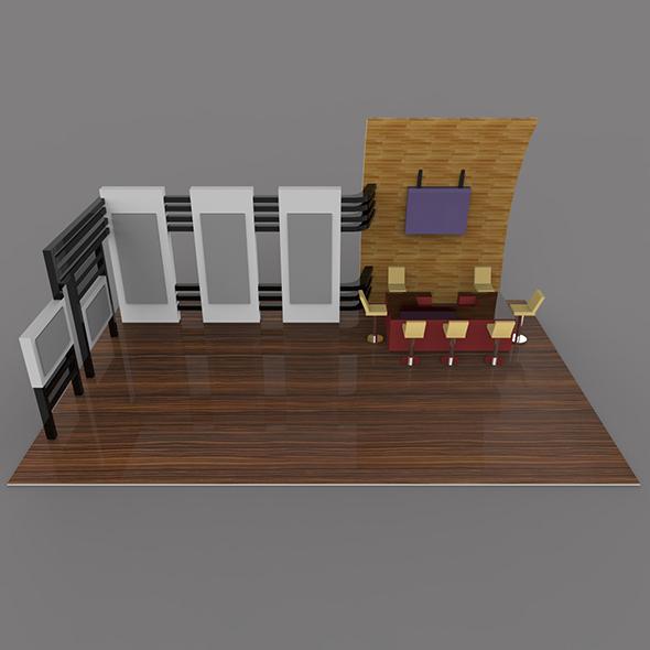 3DOcean 3D Stall 20126986