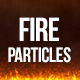 Fire Particles Background