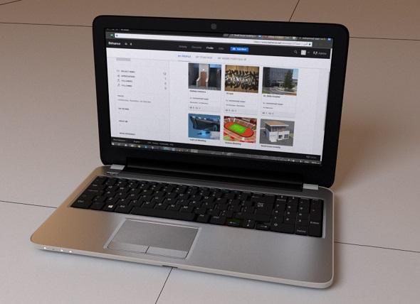 3DOcean Generic Aluminum Laptop 20128089