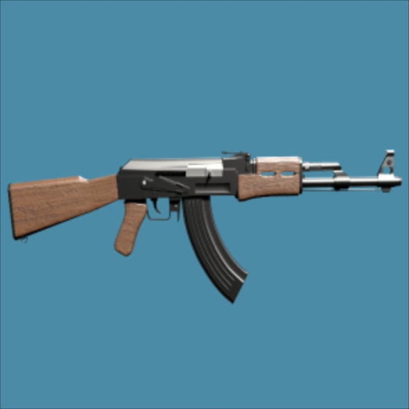 3DOcean High Poly AK 47 Model 20130048