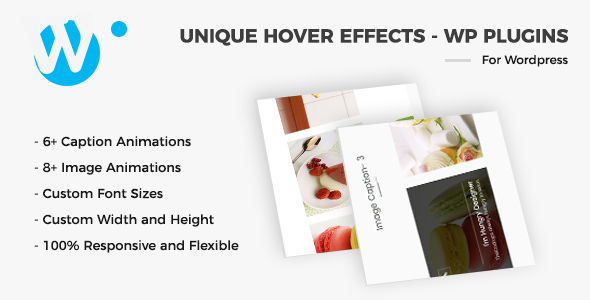 Unique Hover Effects – WordPress Plugin (WordPress) images