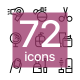 Beauty, Makeup, Cosmetics Icons Pack for Web and Mobile Apps