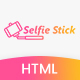 Selfie Stick Landing Page Html 5 Template