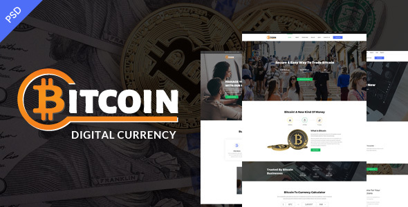 Bitcoin PSD Template
